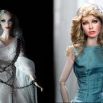 Farrah vs 3.0 Ghost Barbie http://ncruz.com & http://regentminiatures.com