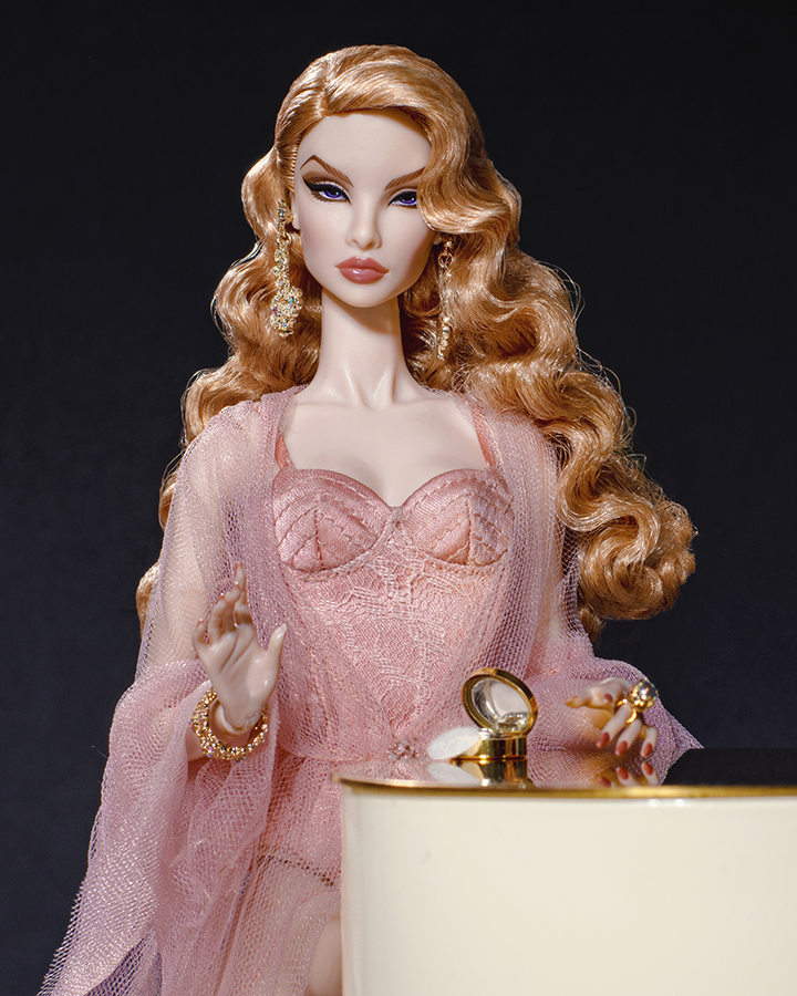 "JEWELRY FROM SWEET VENOM JORDAN 12/"" BOUDOIR LIMITED FASHION ROYALTY DOLL!"