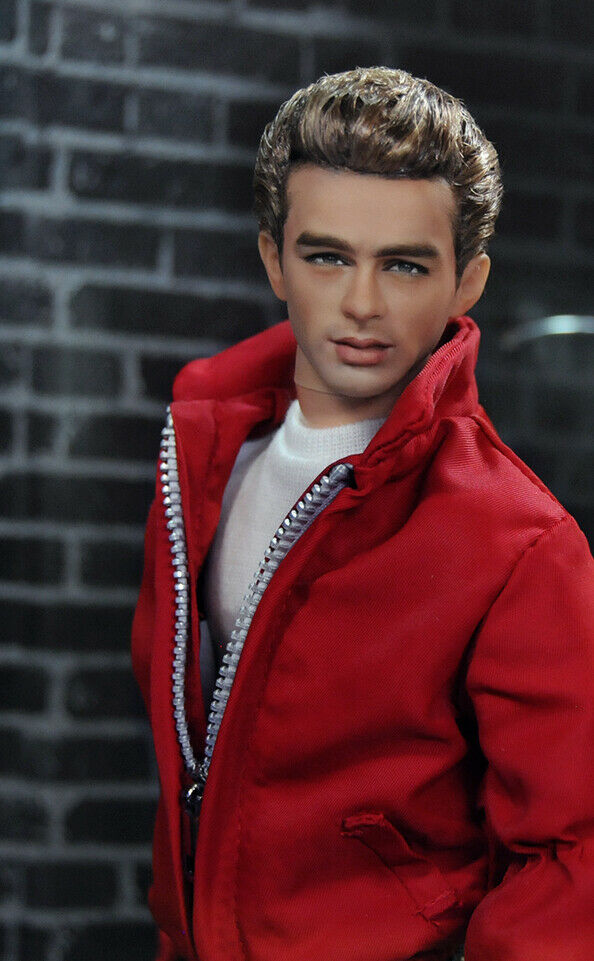 #JamesDean by  @ncruzdollart  is up for auction on eBay! Don't miss out on this amazing #ooak #repaint of a #Movies #Classic #Actor 1/6 scale #repaint at https://ebay.com/usr/ncruz_doll_art